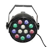 Lixada Luce a Sfera Effetto per Feste Pub Discoteca Lampadina LED Rotante Multicolori