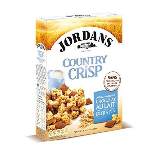 jordans Country crisp chocolat au lait - ( Prix Unitaire ) - Envoi Rapide Et Soignée