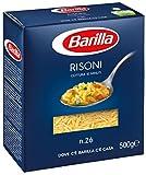 Barilla - Risoni, Pasta di Semola di Grano Duro, n.26 - 500 g
