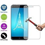 Para Ulefone Paris (5 pulgadas) Protector de Pantalla ZeWoo® Cristal Vidrio Templado Premium (9H *2.5D, 0,33mm)