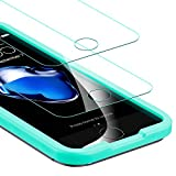 Verre Trempé iPhone SE / 5s / 5 / 5C **Pack de 2** [Kit d'installation Offert], ESR Film Protection écran en Verre Trempé Ultra Clair 9H [Résistant aux rayures] [Résistant aux empreintes digitales] pour Apple iPhone SE / 5s / 5 / 5C