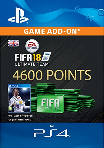 FIFA 18 Ultimate Team - 4600 FIFA Points | PS4 Download Code - UK Account