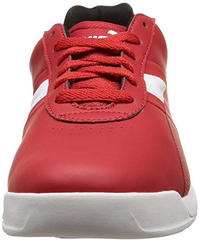 Puma Pilota Tech SF, Baskets Basses Homme Rouge (Rosso Corsa/Rosso Corsa/White)