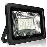 RPGT 50W Blanco Cálido Delgado Luz Proyector LED Foco proyector, IP65 Impermeable Resistencia