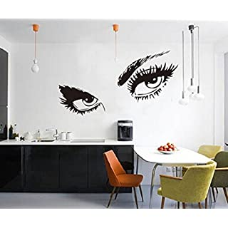 ACEFAST INC Audrey Hepburn's Eyes Removable Vinyl Wall Stickers Mural Home Art Decal Kids Room Decor