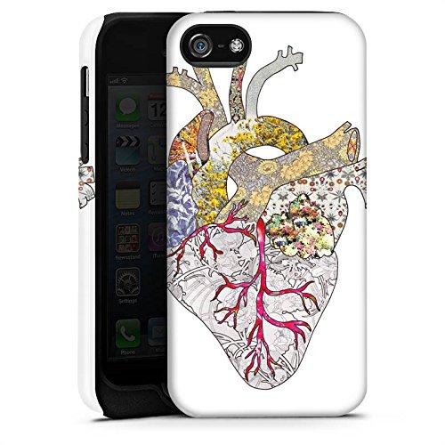 Apple iPhone X Silikon Hülle Case Schutzhülle Liebe Herz Heart Tough Case matt