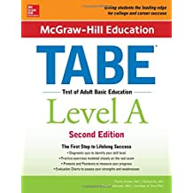 McGraw-Hill Education TABE Level A, Second Edition (Test Prep)