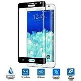 Samsung Galaxy Note Edge Cristal Templado,Vikoo 9H 2.5D Full Cover Anti-shatter Película de La Pantalla de Vidrio Templado para Samsung Galaxy Note Edge Tempered Glass Screen Protector,Negro