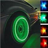 4pcs Auto moto pneumatico valvola tappo coperchio luci lampade
