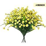 Pack 4 Ramos Plantas Artificiales Arbusto Flores por Belle VousLas flores son geniales pero no duda por siempre. Muestre estas plantas en su hogar y durarán toda una vida. ¿Qué más podría desearQué Incluye:- 4 x ramos Dimensiones:- Largo: 38c...