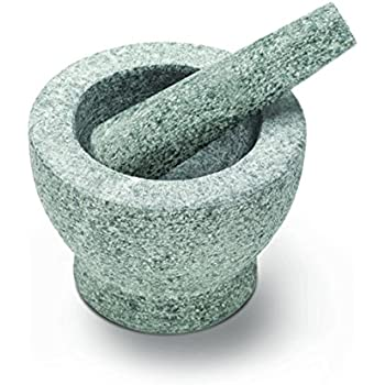 Mörser Und Stößel oliver jc5101 mörser und stößel set stein grau 14 x 14 x 12