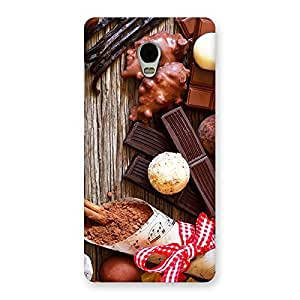 Sweet Chocolate Candies Back Case Cover for Lenovo Vibe P1