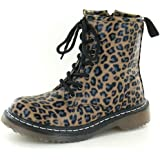 Spot On Low Lace Up Ankle Boot