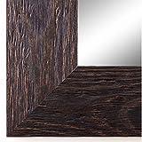 Spiegel Wandspiegel Badspiegel Flurspiegel Garderobenspiegel - Über 200 Größen - Venedig Dunkel Braun 6,8 - Größe des Spiegelglases 70 x 140 - Wunschmaße auf Anfrage - Antik, Barock