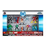 Jazwares Nano Metalfigs-DC Comics Pack de 10 Figurines, 98663