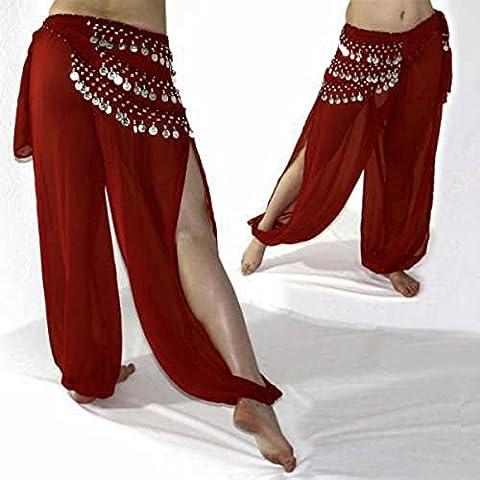 Belly Dance Harem Pants for Dancing Tribal Dancer Costume Yoga