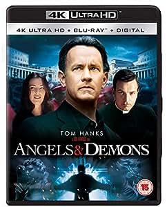 Angels & Demons [4K Ultra HD] [Blu-ray] [2009] [Region Free]