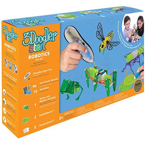 3Doodler Start 3D Stift-Set Robotics 3DS-ROBP-DEF-R Druckstift Kinder Spielzeug - 7