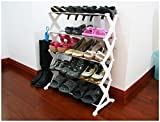 Flying birds 5 Adjustable 5 Layer Shoes Organizer Storage Rack ShelfRack(FB-SR)