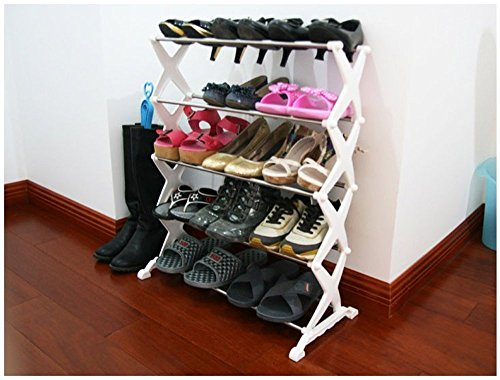 Divinext Portable Shoe Organiser Rack Holder 15 pairs
