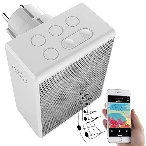 auvisio Radio Freisprechfunktion: UKW-Steckdosenradio und Freisprecher, Bluetooth 5.0, 30 Senderspeicher (Steckdosenradio Freisprechfunktion)