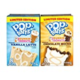 Limited Edition Vanilla Latte and Chocolate Mocha Pop Tarts Duo
