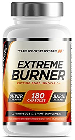 Fat Burners - Extreme Fat Burners for Men & Women - 180 Vegetarian Capsules - UK Manufactured Diet Pills - High Strength Premium Safe Legal Fat Burning Pills - Diet Pills that work fast - Vegetarian & Vegan Friendly – Bust Belly Fat Today – Order From A Trusted UK Weight Loss Tablet Brand