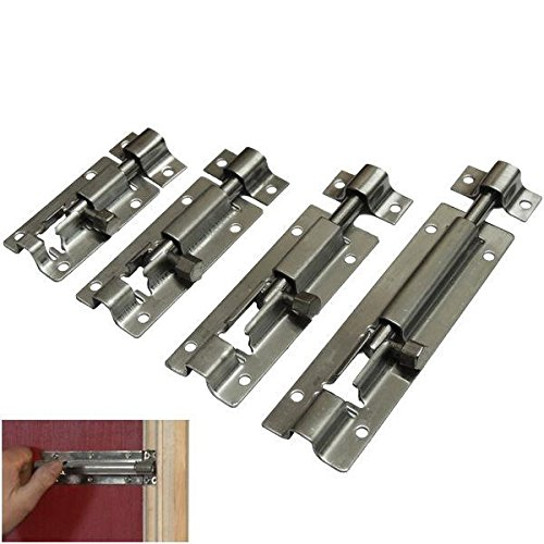 simple slide bolt lock bathroom toilet shed door lockcatchlatch small to large
