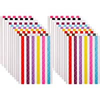 20 Hojas de Esquinas para Fotografías Esquinas Autoadhesivas de Foto para Álbum de Recortes Álbum de Fotos, Multicolor