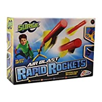 Grafix Surge Air Blast Rapid Rocket with Rotating Multi Aim Launcher and Air Blast Pad