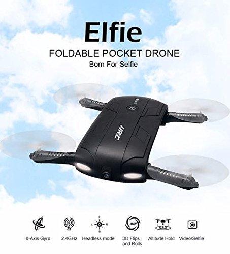 #Selfie Drohne Quadcopter faltbare Mini Drohne mit Kamera- Steuern als ob man selbst drin sitzen würde. So lässt sich leicht ein Selfie schiessen.Automatik Rückkehr und Lande Funktion. Ab Lager Schweiz.#