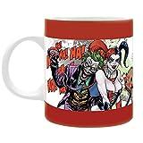 DC Comics - Suicide Squad - Keramik Tasse - Harley Quinn & Joker - Forever Evil - Geschenkbox