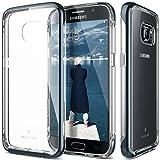 Caseology Galaxy S7 Hülle, [Skyfall Serie] Transparente Klare Schlanke Kratzfeste Schutzhülle [Navy Blau - Navy Blue] für Samsung Galaxy S7 (2016)