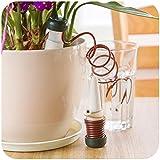 Dealglad® 2 piezas goteo automático sistema de riego plantas de interior flores abrevaderos herramienta de riego
