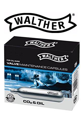 Walther 12g CO2 Wartungskapseln Luftgewehr Softair Luftpistole Paintball