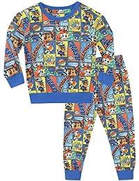 Paw Patrol Pijamas de Manga Larga para niños Chase y Marshall