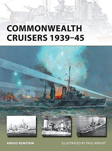 Commonwealth Cruisers 1939–45 (New Vanguard)