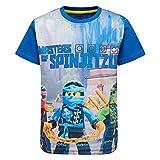 Lego Wear Jungen T-Shirt Lego Ninjago M, Blau (Blue 569), 152