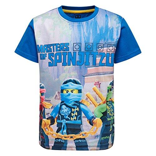 Lego Wear Jungen T-Shirt Lego Ninjago M, Blau (Blue 569), 134