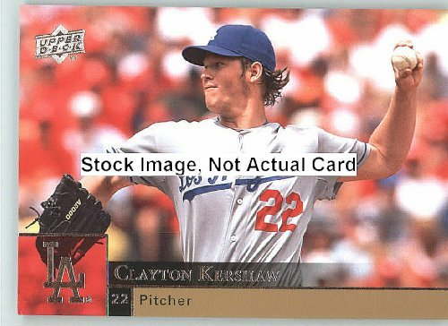 2009 Upper Deck Baseball Card # 210 Clayton Kershaw ( Dodgers ) MLB Trading Card in a Protrective Screw Down