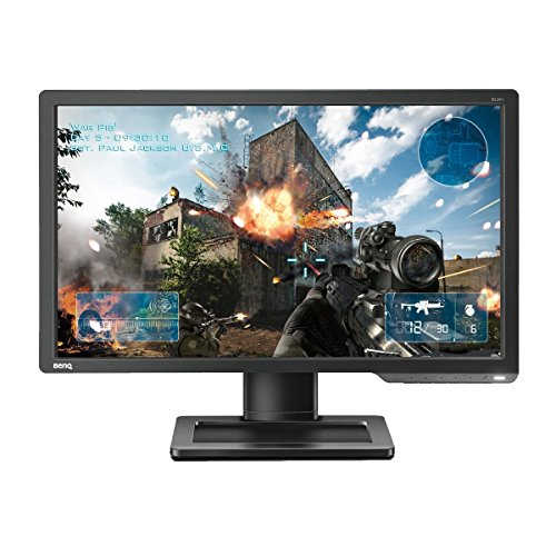 BenQ ZOWIE XL2411 24-inch 144 Hz e-Sports Monitor (Black eQualizer, Height Adjustable) - Dark Grey