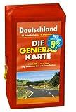 Generalkarte Deutschland Pocket-Set. GPS-tauglich. (Maßstab: 1:200000): 10 Doppelkarten