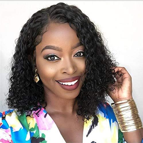 Heißer Verkauf Europäischen Und Amerikanischen Perücke Frauen Rose Net Kleine Krümmung Afrikanische Lockiges Haar Chemische Faser Hochtemperaturseide Gefälschte Kopfbedeckung