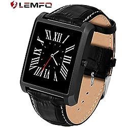 Lemfo LF20Bluetooth reloj inteligente 1.54IPS Pantalla MTK2502Heart Rate Monitor reloj inteligente para iPhone Android teléfono
