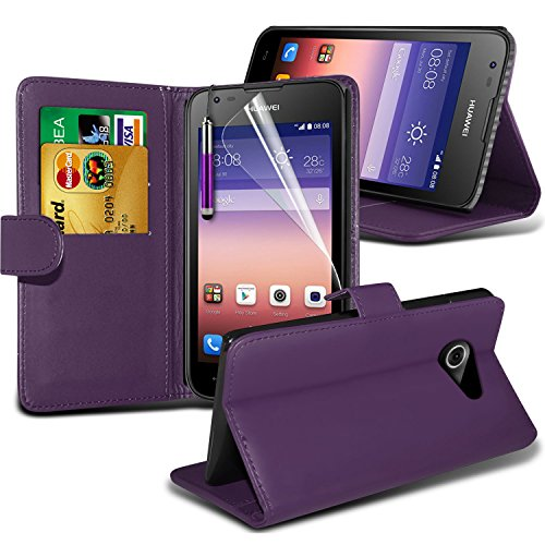 -purple-huawei-ascend-y550-case-protectivebookstyle-pu-leather-wallet-flip-with-2-credit-debit-card-