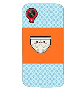 PrintDhaba Funny image D-4890 Back Case Cover for LG GOOGLE NEXUS 5 (Multi-Coloured)