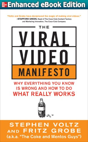 The Viral Video Manifesto: Why Everything You Know is Wrong and How to Do What Really Works (ENHANCED EBOOK) (Grobe System)