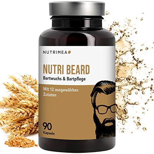 Nutri Beard+ Bartwuchs & Bartpflege – DIE NR. 1 AUS FRANKREICH – Bartwachstum anregen &...