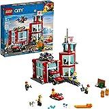 Lego City Pompiere Caserma dei Pompieri 60215 (509 Pezzi) con Luce e Suono- 2019
