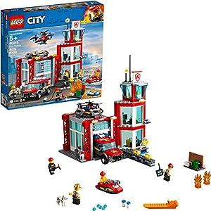 Lego City Pompiere Caserma dei Pompieri 60215 (509 Pezzi) con Luce e Suono- 2019 0673419303033 LEGO